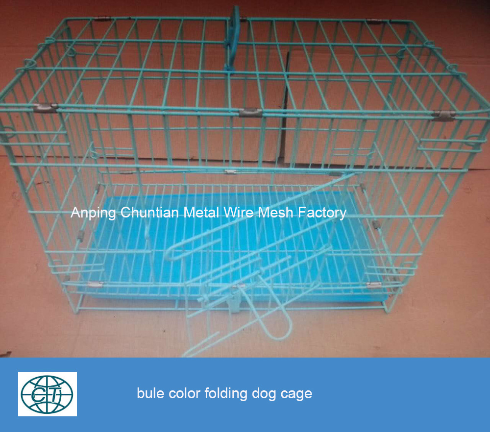 Powder Coated Metal Wire Welded Folding Dog Cage Pet kennel Cage hot sales