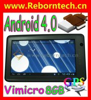 "8GB Android Tablet GPS 7"" Capacitive Android 4.0 WiFi 3G HDMI Built in GPS Tablet PC V708"