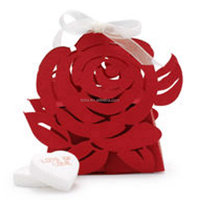 Teda Wholesale Wedding Favor candy/chocolate Box