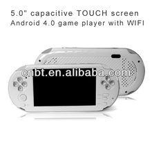 5 inch mp5 game player, cpu1GHZ+512MB DDR3, Smart game player