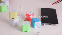Hot selling 3W 5v Mini cube china bluetooth speaker in water cube design