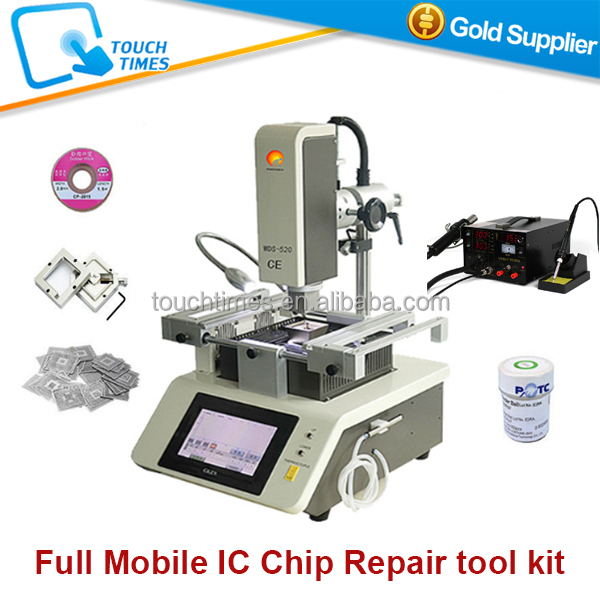 Cheaper price Lead free bga chip repair WDS-520 cell phone motherboard repairing machine Full Set