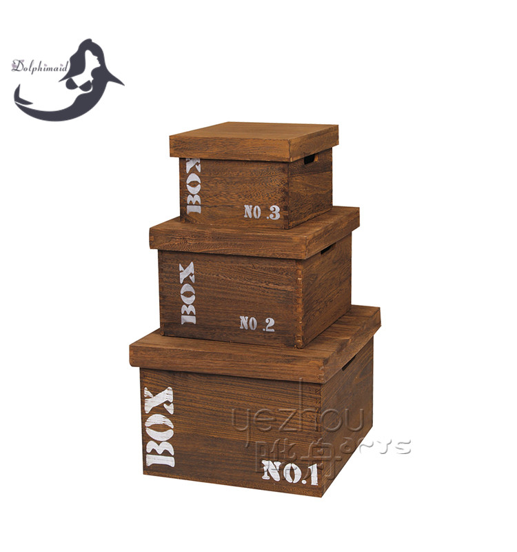 Simple theme and art collectible use unfinished wooden for Uses for wooden boxes