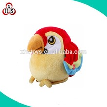 Wholesale children toys red plush bird