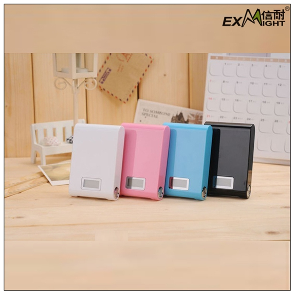 Promotion sales factory price universal portable aluminum power bank 10400mah