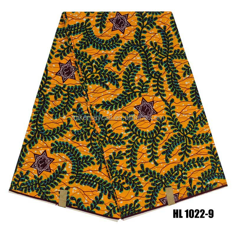 2017 Fashion african holland wax prints ankara fabric binta with best quality and low price