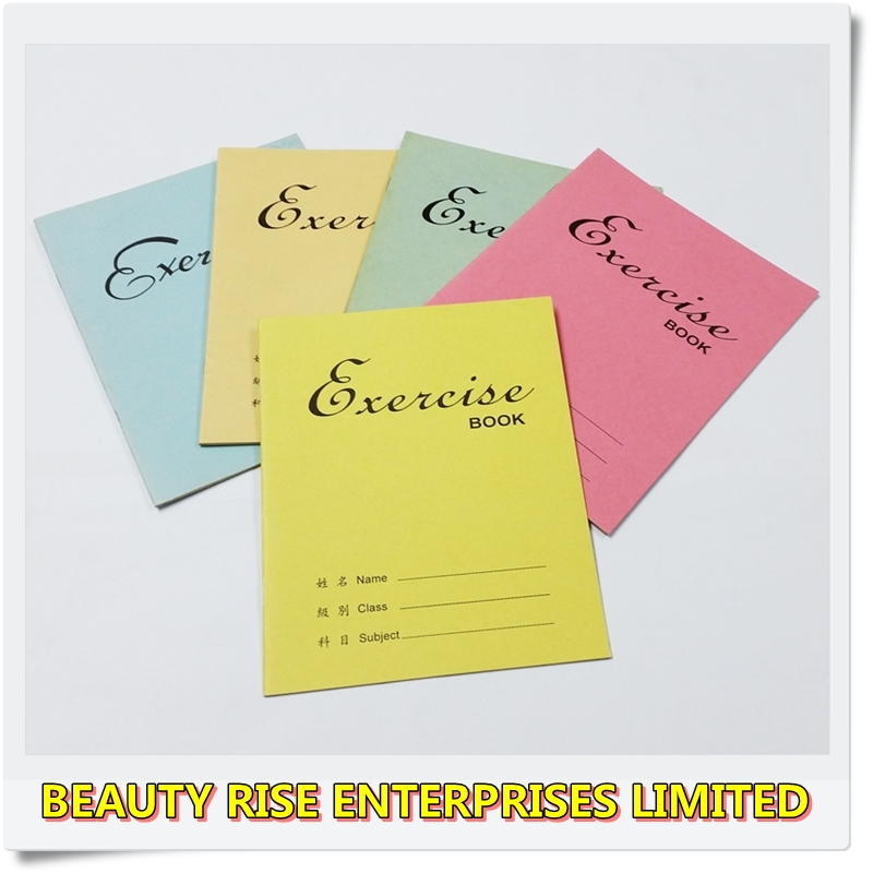 Best price of soft cover design exercise book