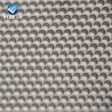 "Galvanized Steel Perforated Sheet .034"" (22 ga.) x 12"" x 12"" - 3/32"" Holes - 3/16"" Centers"