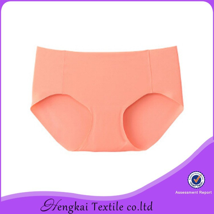 Hengkai manfacturer high quality seamless ladies panty brand names