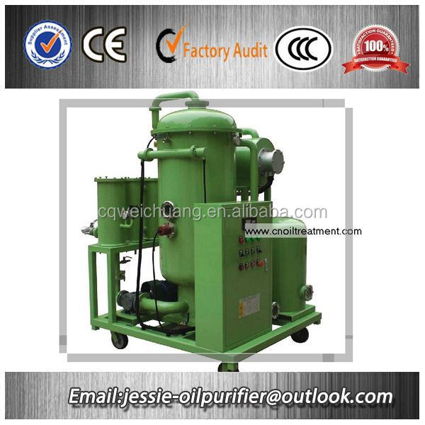 100% carbon and water removal black lubricating oil recycling machine