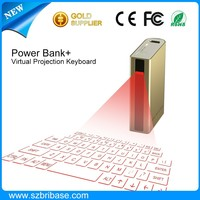 High quality Multifunction Virtual laser keyboard Laser projector QWERTY wireless keyboard