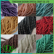 Glass pearl beads decorative beads for clothes
