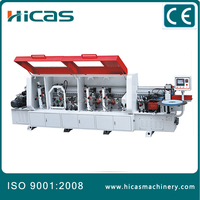 wood veneer hot glue edge banding machine