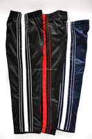 2016 hotsell men's 100% polyester tricot pants sport pants