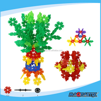 128PCS Snow Flakes Kids Tiles Magic Hot Child Sexy Model Building Toys for Boys and Girls Intellectual Educational Toy Supplier