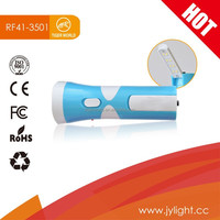 Tiger World led rechargeable solar flashlight