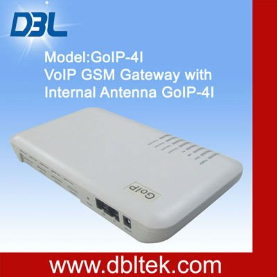 Newly desighed! GoIP-4I with built-in antenna