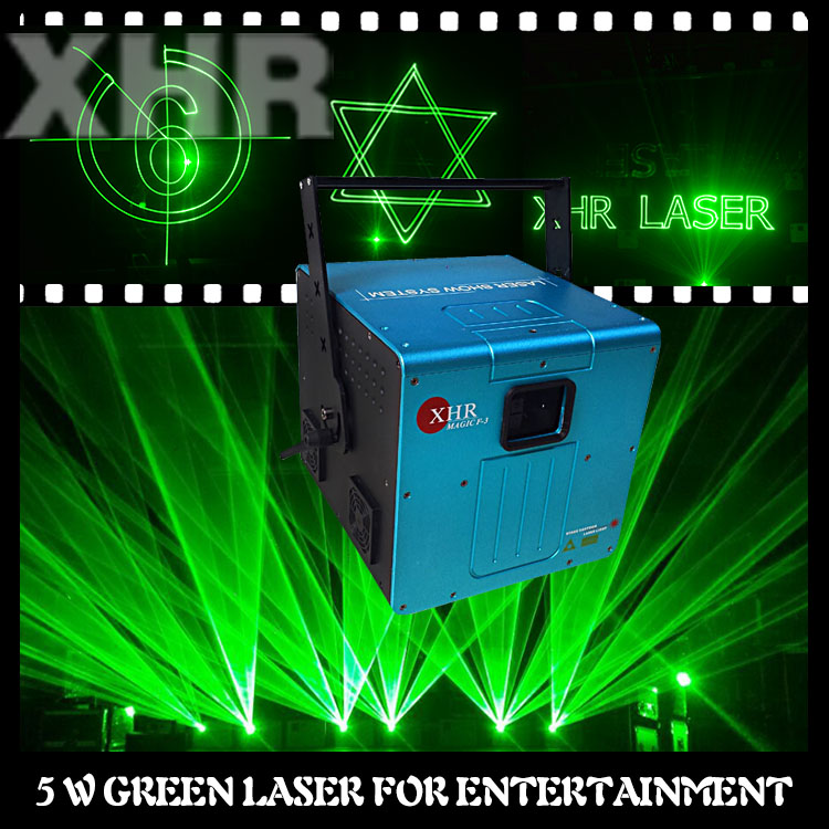 Stage DJ Disco green laser light green laser 5000mw