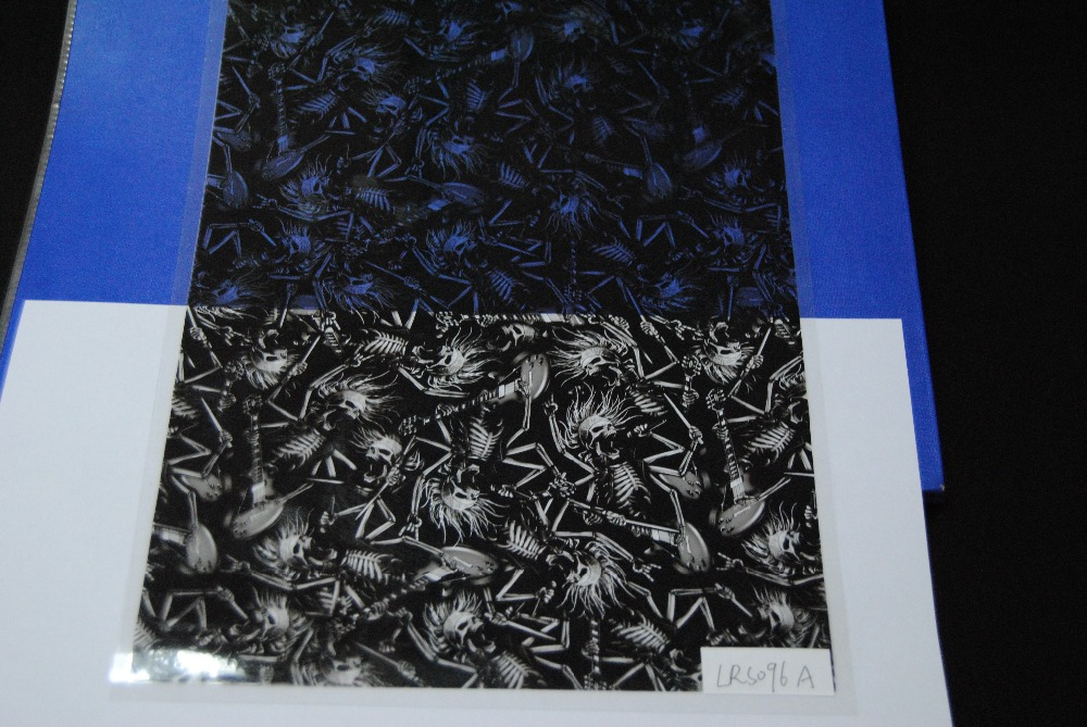 Wholesale cubic water transfer film & water transfer printing & hologram LRS096A