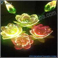 candle light fiber optic,led fiber optic plug in light