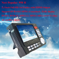 "4.3"" Portable DVB-S Satellite Finder with DC12V and AV Output for CCTV Camera"