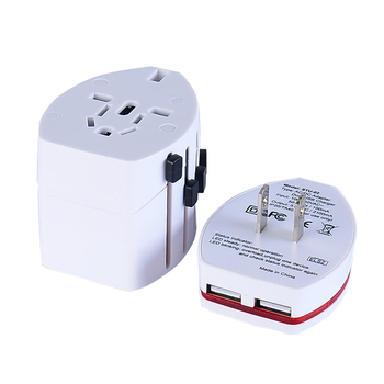 Popular 2.1A USB power charger adapter euro AU US plug adapter universal power adapter