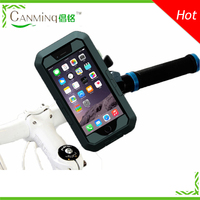 custom silicone phone case for bike cell phone bike mount case