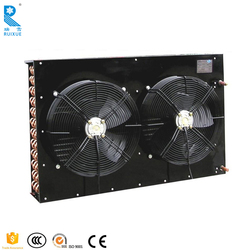 Air Cooled Split Type Copper Fins Heat Exchanger Power Saving Condenser For Walk In Cold Warehouse Room In Refrigeration
