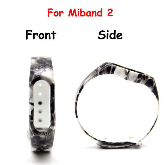 11 colors Strap For Mi Band  2 Silicone Belt For Xiaomi Strap Replacement Band for Mi Band 2