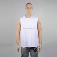 2016 Summer fashionable New Men's Plain Muscle Vest Tee Sports Tank Top