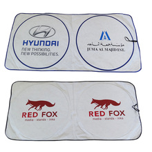 Advertising Car Front Sun Shade Promotional Custom Printing Car Sunshade