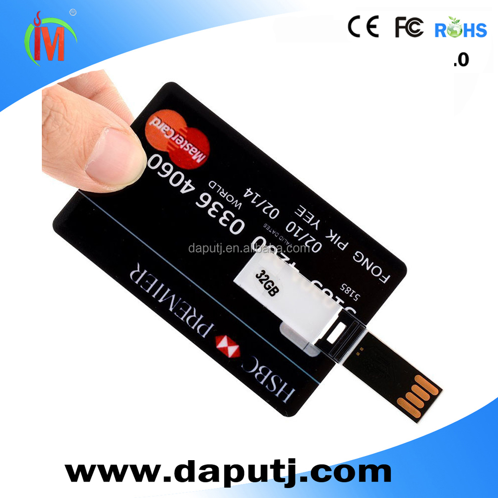 credit card usb flash drive card,card ub with custom logo