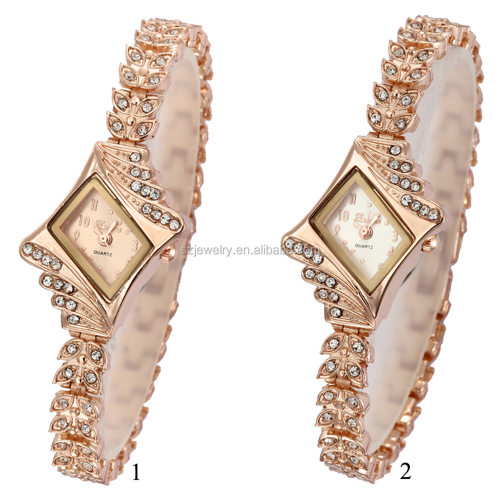 2016 Vogue 24 Hour Watch With Diamond,Fashion Jewellery Import Accessories Girl Latest Hand Watch