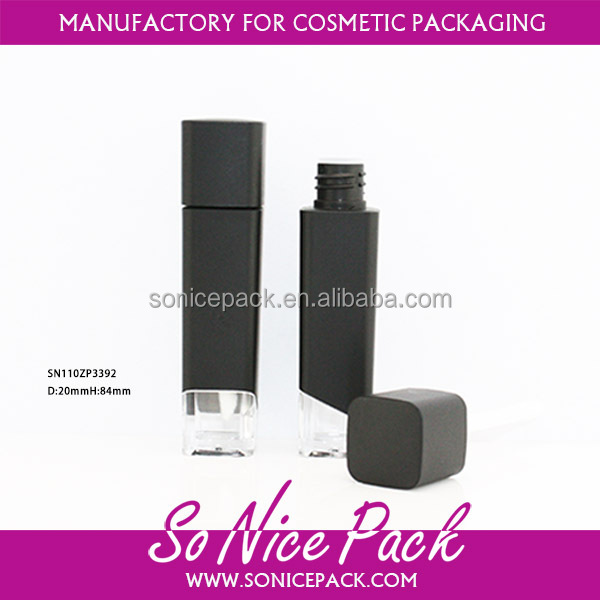 empty cosmetic liquid lipstick lipgloss container packaging