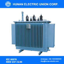 Low loss oil immersed transformer 6kV 10kV 11kV 33kV 35kV
