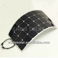 Highly flexible magnetic backed solar panels 100W