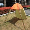 large canvas travel camping frame tent