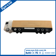 New design professional 3D truck 2gb mobile usb flash drives bulk cheap