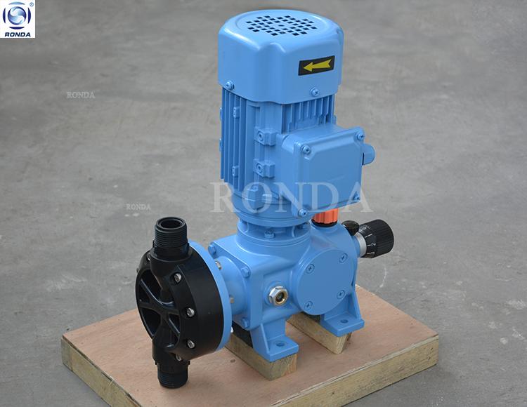 KD SS PTFE PVC small detergent dosing pump acid transfer chemical dosing pump