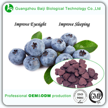 Daily Need Product Health Customized Improve Eyesight Blueberry OEM Food Tablets