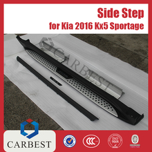 High Quality Aluminum Running Board for Kia Sportage Side Step 2016 KX5