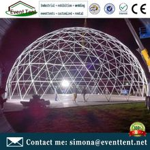 Low cost prefab container house geodesic dome house made in china
