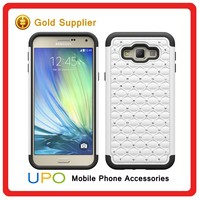 [UPO] Stylish Custom Diamond Stars Hybrid Silicone PC Shockproof Phone Case for Samsung Galaxy A8