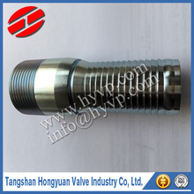 Hydraulic hose end galvanized Carbon Steel King Combination KC Fittings Nipples