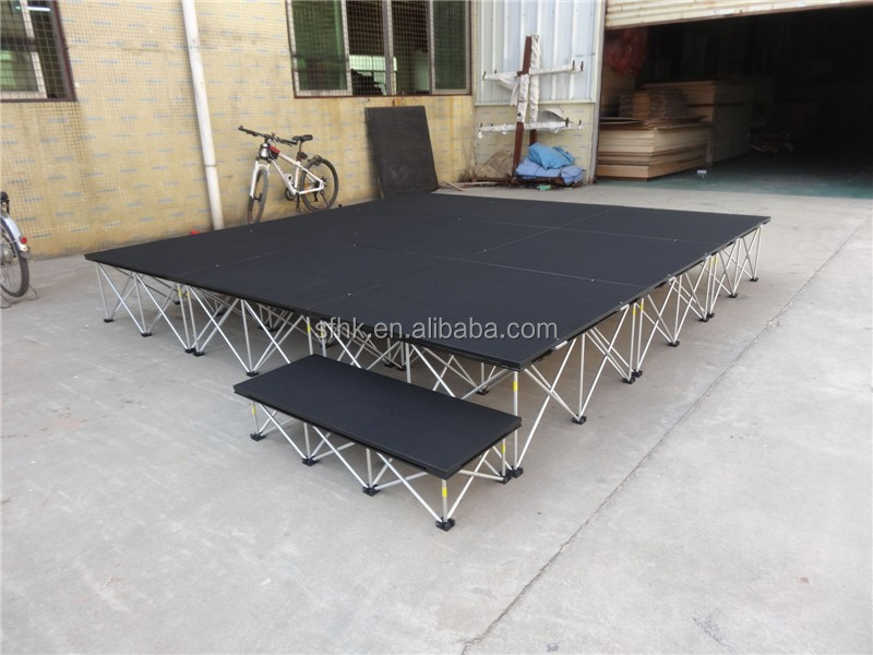 Manufacturer Price! Portable Stage Height 40Cm-200Cm Seating Risers