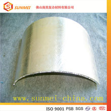 Honeycomb panel/wall cladding exterior sheet metal