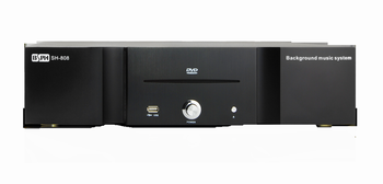 8 zones power amplifier SH-808 , multi-zone smart audio system , background audio systems WIFI air-play