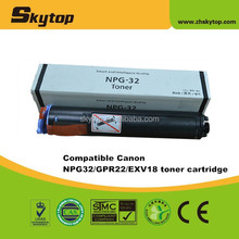 Chinese manufacturer Skytop compatible toner cartridge for Canon toner GPR22 copier cartridge