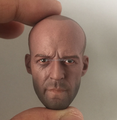 Realistic Head Sculpting 3D Action Figure Head/OEM UK Famous Sports 1/6 Scale Head Sculpt