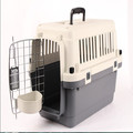 "24"" plastic airline approved travel carrier pet crate for dog cat small animal"